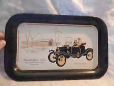 Vintage Advertising Tray Marty's Auto Sales Carlisle, PA 1910 Ford Torpedo