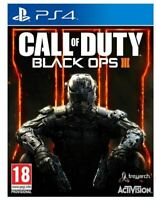 CALL OF DUTY BLACK OPS 3 III - PLAYSTATION 4 - NEW SEALED - SAME DAY DISPATCH