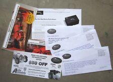TRAX LEAFLETS 2005 - 2010 Original Diecast 1/43 Opal FALCON XA GT CHEV BLITZ 4x4