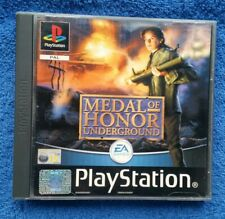 MEDAL OF HONOR : UNDERGROUND - Sony PlayStation 1 - PS1 - Play Station SALE!