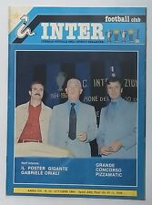 50741 Inter Football Club - a. XIX n. 10 1980 - Nuovo dribbling Mazzola; Bordon