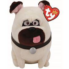 Ty Beanie Babies Secret Life of Pets Mel The Dog Regular Plush New!