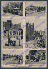 Ostpreußen Zerstörung Wiederaufbau Hohenstein Lyck Johannisburg Ortelsburg 1916