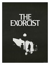 1973 MINT ROLLED ☆ THE EXORCIST ☆ Original Warner Brothers Movie Theater Poster!