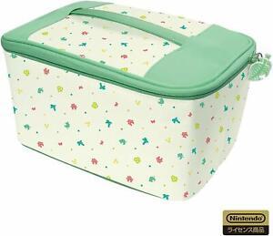 HORI Animal Crossing New Horizons Storage Bag for Nintendo Switch Japan Import