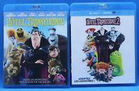 "2 Blu Ray  "" Hôtel Transylvanie 1 et 2 "" + Bonus exclusif édit. Blu ray karaoke"