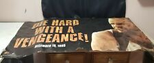 Rare Die Hard With A Vengeance Poster Banner Promotion 1995  Bruce Willis