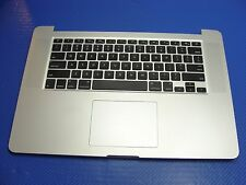 "MacBook Pro A1398 15"" Mid 2012 Top Case w/Trackpad Keyboard Battery 661-6532 ER*"