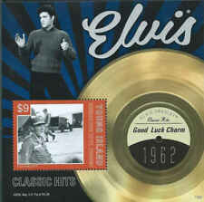 St Vincent - Elvis Presley Good Luck Charm - Souvenir Sheet SGY1302