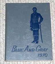 1970 Robert E. Lee High School Yearbook Jacksonville FL Blue & Gray Annual