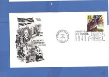 FIRST DAY ISSUE WW II Uncle Sam Stamp and Memory Graphics on envelope 1999 FDC
