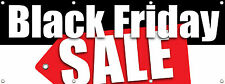 "BLACK FRIDAY SALE BANNER SIGN 96"" X 36""Multi Color, RETAIL STORE SALE SIGNS"