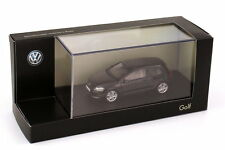 VW GOLF VII 2012 3 DOORS DEEP BLACK PEARL EFFECT HERPA 5G3099300JHZ 1/43 NOIR