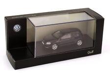 VW GOLF VII 2012 3 DOORS DEEP BLACK PEARL EFFECT HERPA 5G3099300JHZ 1/43 NOIR