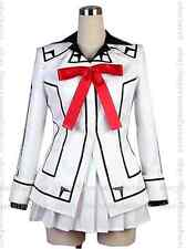 New Style VAMPIRE KNIGHT Yuki Night Class White Uniform Cosplay Costume,Any Size