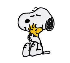 Peanuts - Snoopy + Bird - Aufnäher / Patch / Badge - Neu - #9033 - Aufbügler
