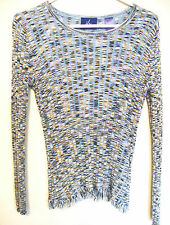 Women's Multi-colored Long Sleeve Pull Over Top by J.H. Collectibles Size M