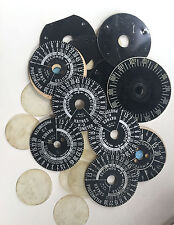 Steampunk Costume Parts/ Photographic Timer Dials