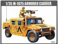 1/35 M-1025 ARMORED CARRIER #13241 ACADEMY HOBBY MODEL KITS