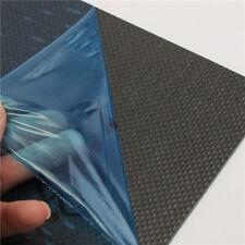 CF20302 200×300×2mm 3K Plain Weave Glossy Surface Carbon Fiber Plate Panel Sheet