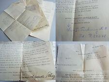 Konvolut 1934 ANTON-WILDGANS-GESELLSCHAFT: Mitgliedschaft von RICHARD KAAN