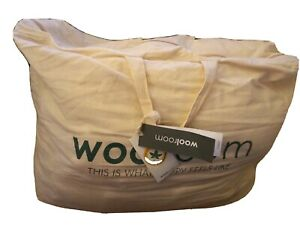 WOOLROOM King size British Classic Wool duvet light 2-5tog  New (other)
