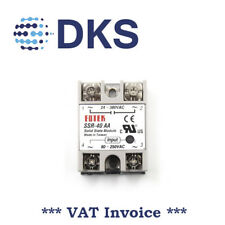 Fotek Solid State Relay SSR-40AA 40A In : 80-250VAC Out : 24-380VAC 001106