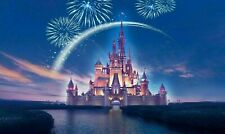DISNEY CASTLE WALL ART 20X30 INCHES CANVAS READY TO HANG