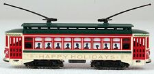 Bachmann N Scale Train Diesel Trolleys/Cable Cars Analog Christmas 61085