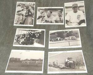 "Baseball Chicago Cubs ""Vine Line"" Postcard Set George Brace Collection Lot of 7"