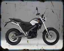 Bmw G650X Country 07 4 A4 Metal Sign Motorbike Vintage Aged