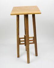 Mackintosh, Quartersawn Oak, Fern Stand/Podium