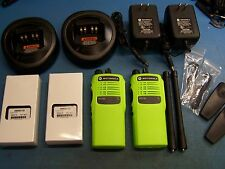 2  Motorola HT750 VHF 136-174MHz 16 Channel Mint Tested