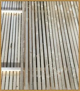 10x  Stapelleisten  Stapelholz  Stapelhölzer // ca. 2,0 x 2,0 cm / 1m lang