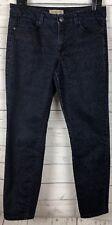 Nine West Vintage America Women's Jeans Dark Wash Slim Boho Floral Size 8/29