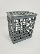 New listing Ge Dishwasher Silverware Basket with Lid Part 165D7460 Cav3 Light Gray