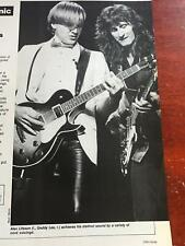 1983 Vintage 1Pg Article Guitar Clinic With Alex Lifeson Of Rush Chord Voicing