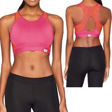 Sloggi Move Fly Top Damen Sport BH Bügellos Gr. S - L Pink/Orange NEU