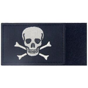 Clothing Patches Sew On transfers Hook Loop appliques badges Jolly Roger Pirate