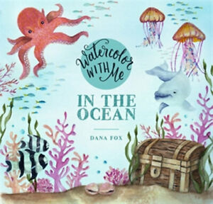 NEW Watercolor with Me By Dana Fox Paperback Free Shipping