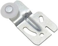 National Hardware  Zinc-Plated  Plastic/Steel  Sliding Door Hangers  2 pk