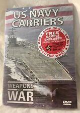 US NAVY CARRIERS DVD VIDEO WEAPONS OF WAR 40 MINUTES  Brand New & Sealed