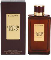 LEATHER BLEND by Davidoff Unisex 100 ML, 3.4 fl.oz spray, EDP. New sealed Box.
