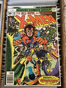 X-MEN #107 KEY BOOK 1st STARJAMMERS IMPERIAL GUARD DAVE COCKRUM 1977 uncanny