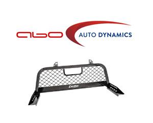 Dee Zee For 1999-2018 Chevrolet/ GMC/Dodge - Gloss Black Mesh Cab Rack DZ95050RB