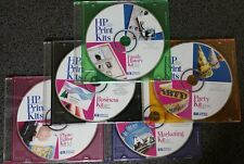 5 HP Print Kits CD-ROMs for 1 low price - Includes Corel & Softkey Software