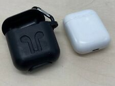 Apple AirPods Genuine Charging Case Only + Protective Slip case with belt clip