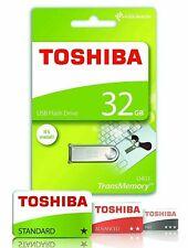TOSHIBA 32GB USB 2.0 Flash Drive HIGH SPEED USB Memory Stick Pen Drive FREE POST
