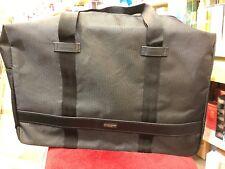 bc2553a73011 GIORGIO ARMANI Black Duffle   Weekender   Travel   Gym Bag   Handbag NEW