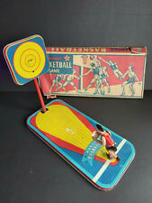 Antique Tin Toy Ranger Basketball Game Original Box Ranger Steel Product Corp.